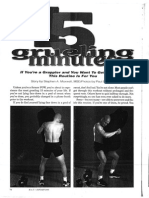 Steve Maxwell 15 Minute Workout for Grapplers