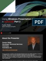 CP118 2 UI Design Featuring WPF Part 2