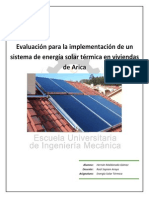 Trabajo 1 Solar Termica