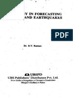 Forecasting Weather & Earthquakes, Raman
