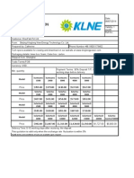 KLNE Quotation List 1.5kw-50kw