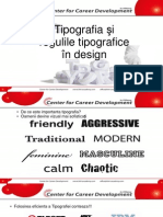 Tipografia Și Regulile Tipografice În Design