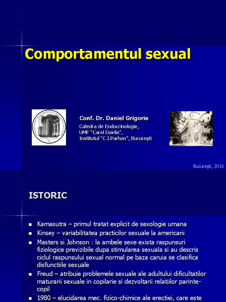 Comportamentul normal sexual