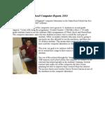 Santa Rosa Fund Computer Report