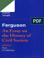 [Adam Ferguson] Ferguson an Essay on the History (Bookos-z1.Org)