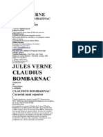 Jules Verne - Claudius Bombarnac