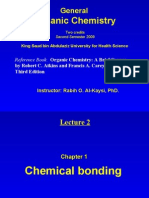 Lecture 2 - Chemical Bonding
