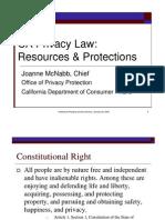 CA Privacy Law