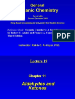 lecture 19- Aldehydes and Ketones