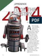 Telepresence Robotics 2014