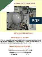 TEMA IX SEPARADOR AGUA-ACEITE F-100