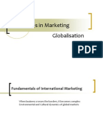 New Issues in Marketing Globalisation