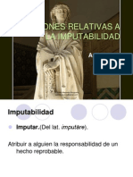 Burguenio Cuestiones Relativas a La Imputabilidad