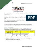 Vidyadeep Scholarship Terms - Fall Drive(1)