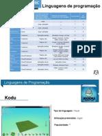 LISTA - Linguagens de Programação