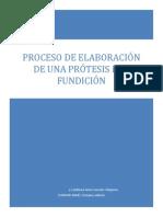 Proceso de Elaboración de Una Protesis Por Fundición