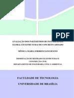 Avaliação Dos Parâmetros de Instabilidade de Estruturas de Concreto