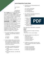 4to Grado - Diagnóstico (2013-2014)