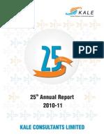 Kale Annual Report 10 11