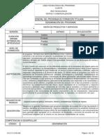 Infome Programa de Formación Titulada Tco Venta de Productos y Servicios