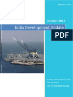 India Development Update Oct '13 World Bank