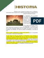 PREHISTORIA -Lectura Breve