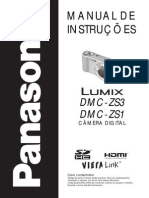 Panasonic Lumix DMC-ZS3 DMC-ZS1 Manual Portugues