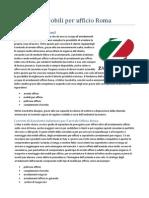 Arredamenti Mobili Ufficio Roma Zanchetta