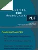 Anemia Pada PGK