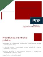 Introducere in Probatiune Organizare 2013 Cursul 4
