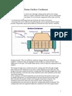 Steam Surface Condenser_notes