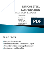 78986845 Nippon Steel Corporation Case Analysis Group 7