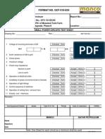 Qcf-018-e04(Small Power Ckt Test Sht)