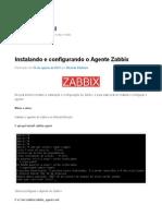 Instalando e Configurando o Agente Zabbix - Mundo TI Brasil