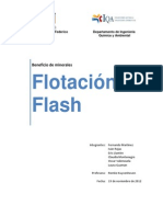 Estudio de Caso - Flotación Flash