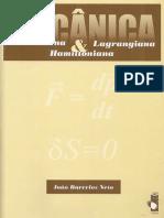 Mecanica Newtoniana, Lagrangiana e Hamiltoniana