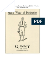 Gommy Vintage Advertisement