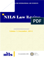 NILS Law Review Vol. 1