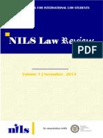 NILS Law Review Vol. 1