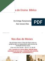 História Do Ensino Bíblico