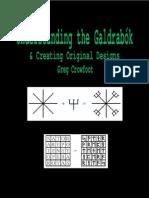 Understanding the Galdrabók & Creating Original Designs by Greg Crowfoot