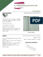 Catalogo Puerta Multiusos y Cortafuegos