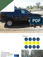 2013 Evart Police Department Annual Report