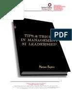 Marian Rujoiu-Tips and Tricks-In Management Si Leadership