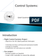 MECH6091_Poject1.Flight Control Systems - Qball Quadrotor Helicopter