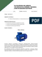 Laboratorio 5 - Motor DC