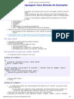 Introdução à Linguagem Java Através de Exemplos