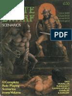 The Best of White Dwarf Scenarios Volume 1