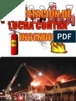 Capacitacion de Lucha Contra Incendio