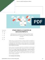 +Cómo crear la campaña de emailing perfecta - 40deFiebre